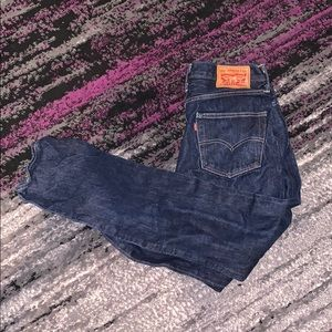 Low waisted skinny Levi's